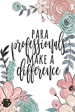 Image that reads: Paraprofessionals make a difference
