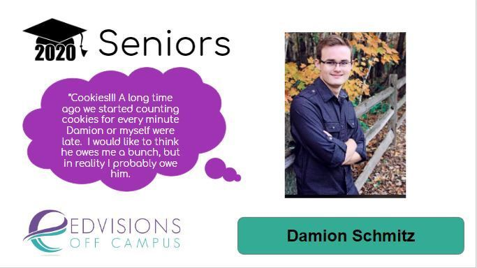 Image of Damion with advisor memory
