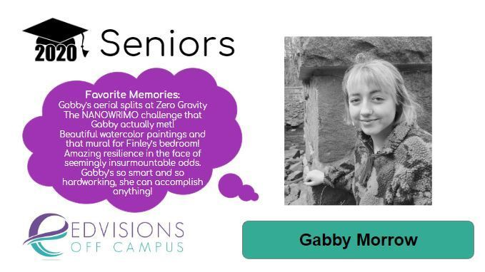 Image of Gabby with advisor memory