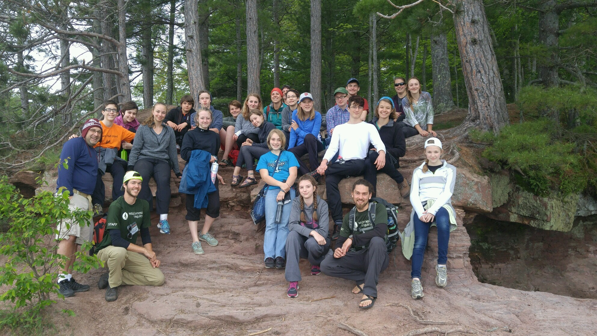 Apostle Island Trip group photo