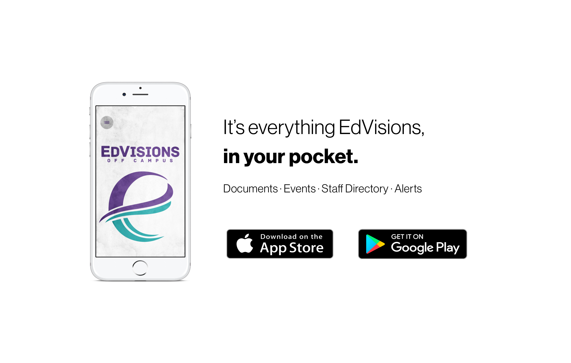 It's Everything EdVisions, in your pocket